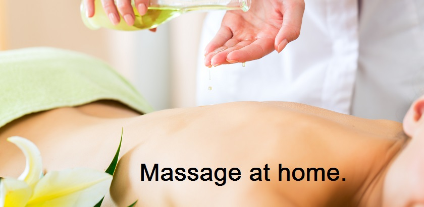 Massage at home melbourne woman feeling great